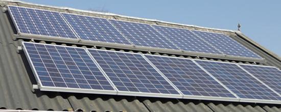 EB1 Zonnepanelen op dak